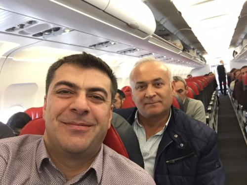 FLY TO ISTANBUL WITH GOOD FRIEND